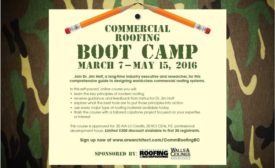 roofing boot camp