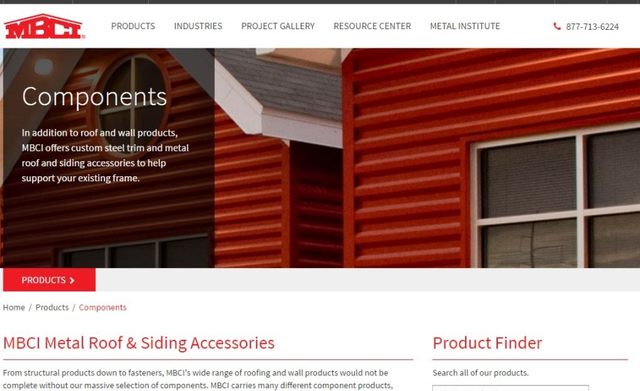 Mbci Launches Catalog Of Components Products Online 2016 10 06 Building Enclosure