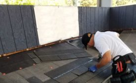 asphalt shingle installer