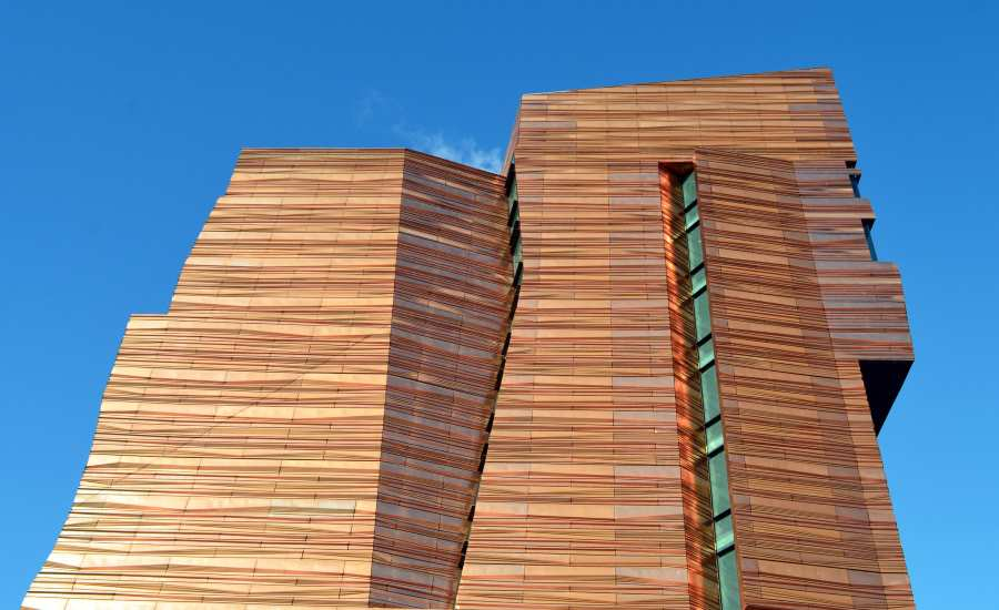 Copper Wall Cladding Is Taking Modern Architecture By
