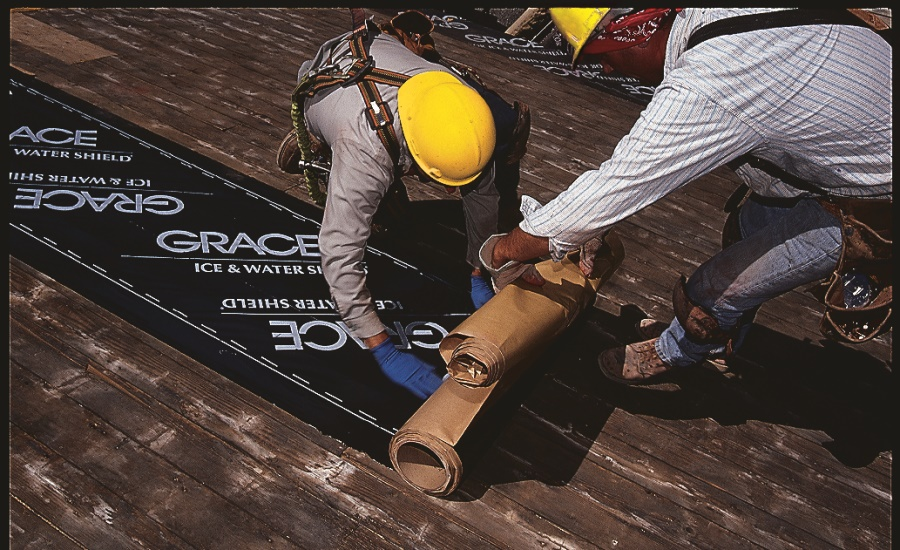 Fully-Adhered Roofing Underlayment