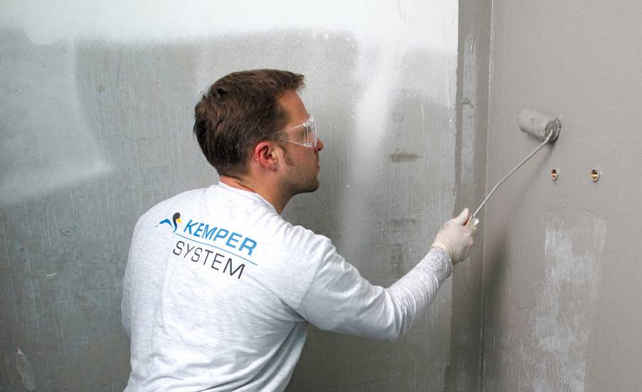 System Covers Indoor Waterproofing Needs