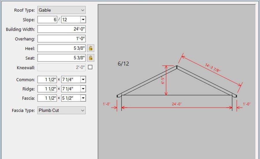 Interactive Roof Design Software