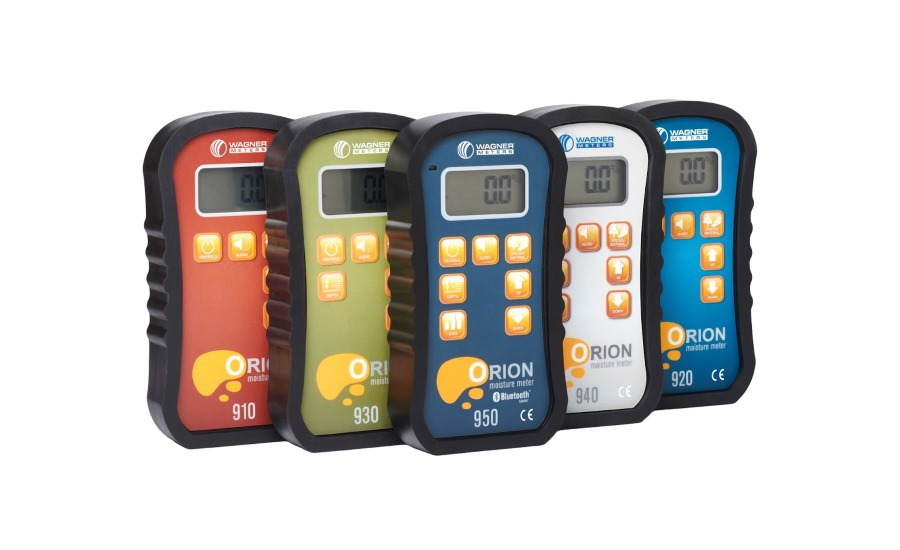 Orion wood moisture meters