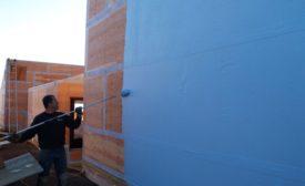 Wall Guardian FW-100A fibered-acrylic air barrier