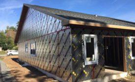 a foam board insulation