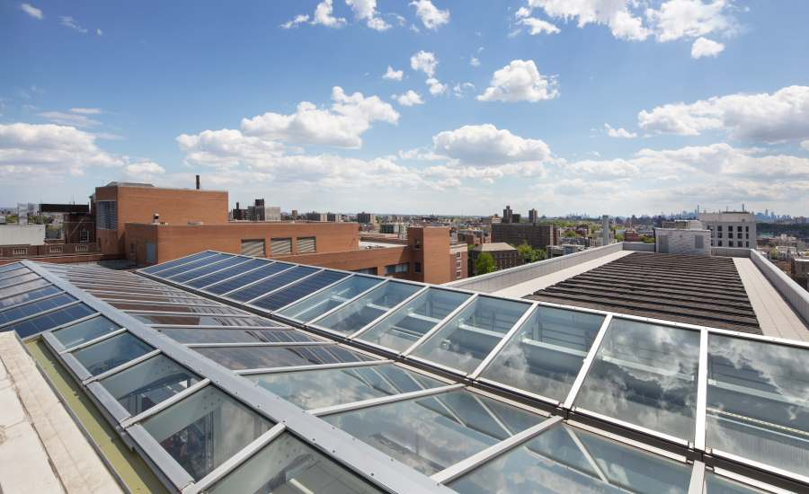 Aluminum-Framed, Monumental Glass Skylight