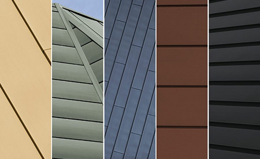 Architectural Zinc Options for Roofing, Façade and Wall Cladding