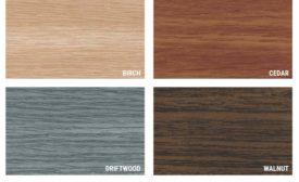 wood metal panel