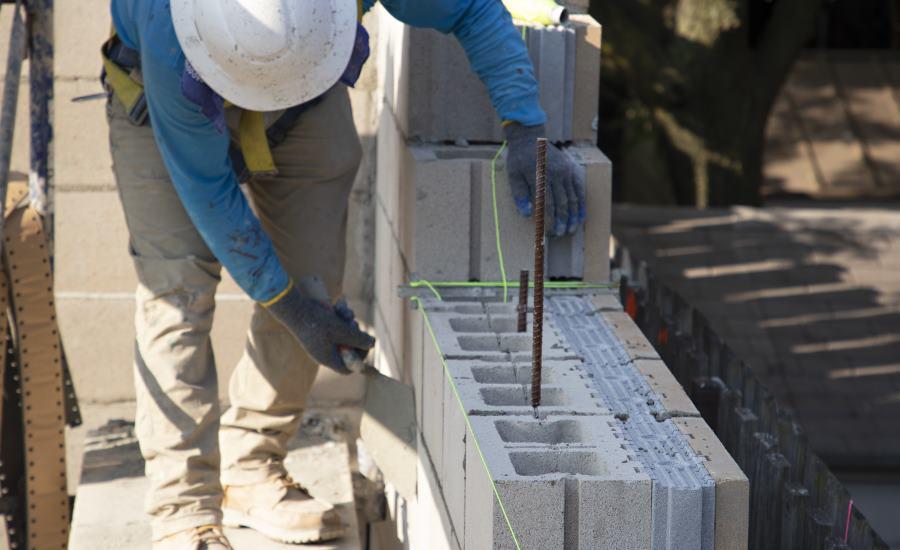 Insulated Concrete Masonry Units Save Construction Time 2019 10 02 Building Enclosure