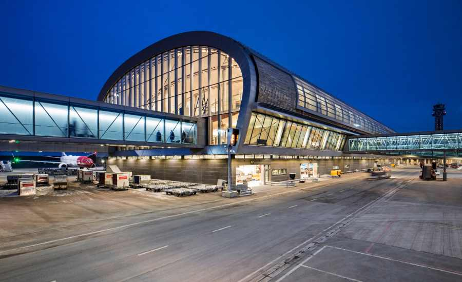 Worlds Greenest Terminal Launches at Oslo Airport 3