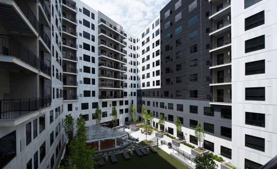 Metal Cladding Adds Beauty for High-Rise Apartments   2018