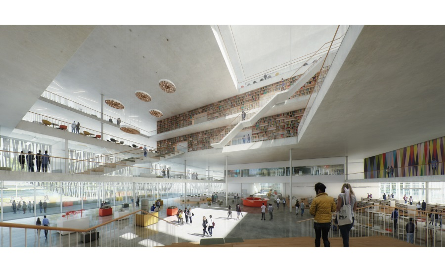 Architects Win International Design Competition For Library