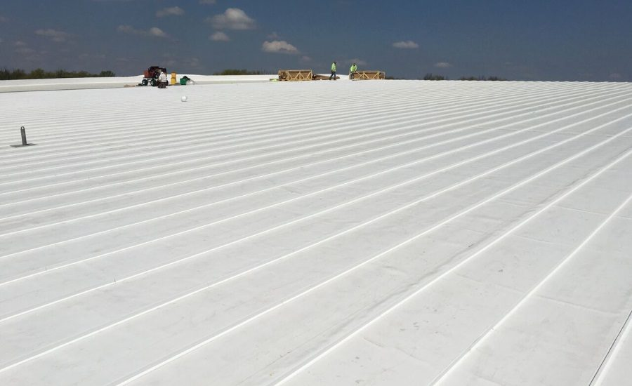 Installation Of Largest Tpo Roofing System In U S 2016