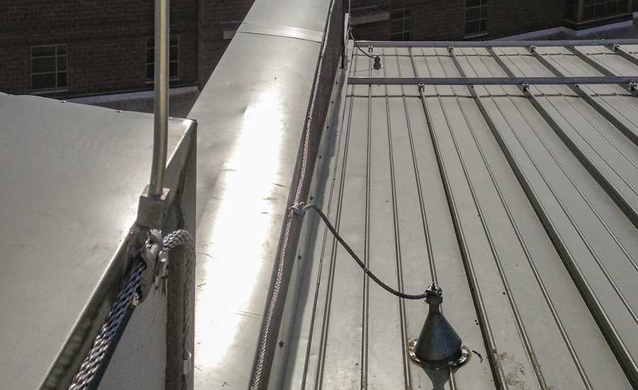 Flexible Boot Flashings Are Used To Seal The Through Roof Penetrations.  Photo Courtesy Of Mr. Lightning.