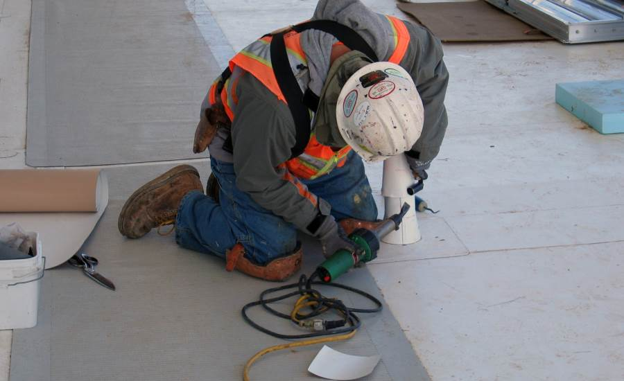 Blue Roof Hot Air Welding - Figure 4