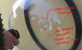 air leakage test