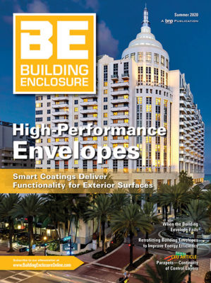 Summer 2020 Cover of Building Enclosure