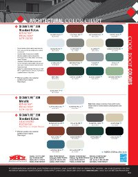 New standard color offerings 2012 03 27 architectural roofing