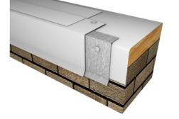 Metal-Era TPO coated drip edge