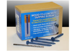 Triangle Fastener Wood-to-Concrete Screws
