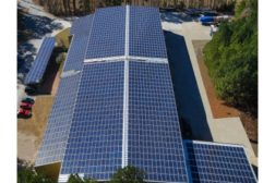 McElroy Metal re-roofs facility with solar panels