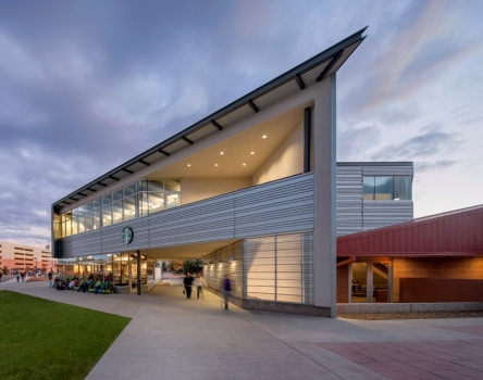 Northern Arizona Universityâ??s Student Union Building Updated Metal Wall Panels
