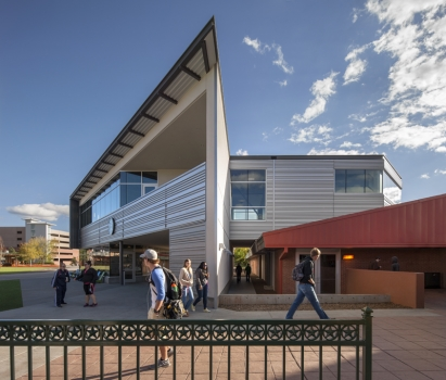 Northern Arizona University�¢??s Student Union Building Updated Metal Wall Panels