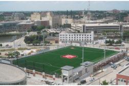 Milwaukee School of Engineering Rooftop Athletic Field