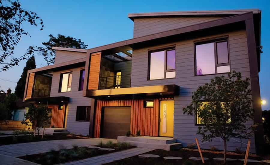 Passive Houses energy efficient housing