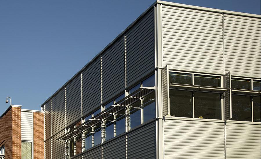 Case Study Pac Clad Metal Panels Redefine Marist School S
