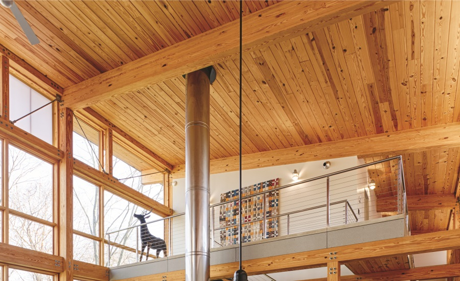 Combining Timber Framing With High Performance Building