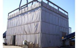 Sound curtain panels