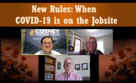 COVID-19 on the jobsite