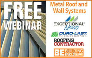 Metal Roof and Wall Systems: Specifying for Aesthetics, Durability, and Energy Efficiency