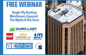 Single-Ply Roofing Membranes Exposed: The Myths & The Facts