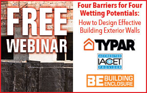 Four Barriers for Four Wetting Potentials: How to Design Effective Building Exterior Walls