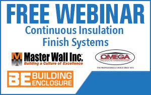 Continuous Insulation Finish Systems