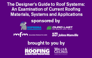 The Designer's Guide to Roof Systems: An Examination of Current Roofing Materials, Systems and Applications