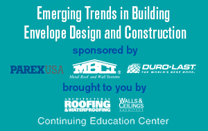 Emerging Trends in Building Envelope Design and Construction