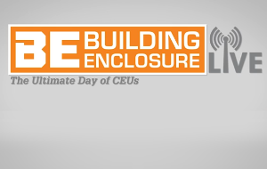Building Enclosure LIVE - The Ultimate Day of CEUs
