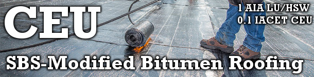 CEU SBS-Modified Bitumen Roofing