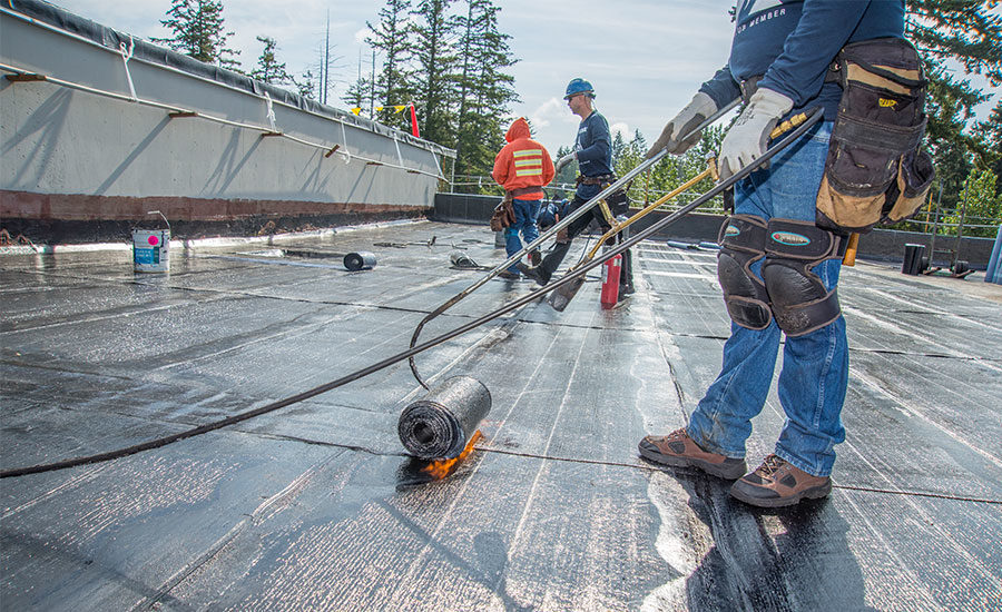 Ceu Sbs Modified Bitumen Roofing 2017 02 28 Building